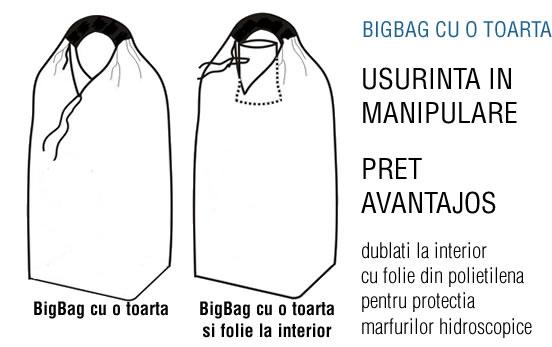BigBags saci cu o toarta